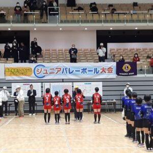 1220バレーボール大会【表彰式】
