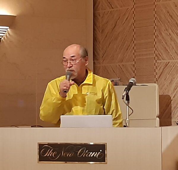 第1319回例会 講師 フードバンク新潟 長岡センター長山崎一雄様